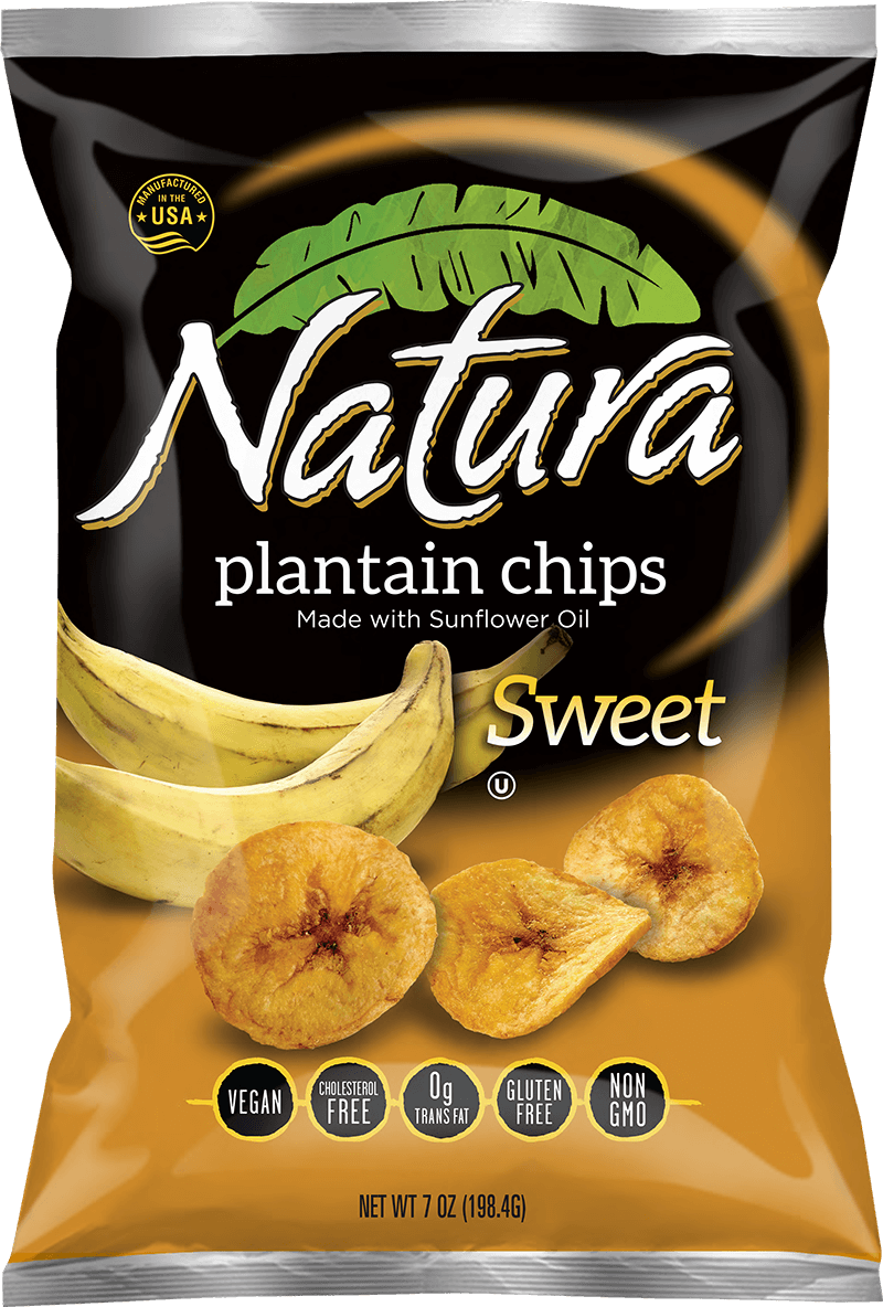 Natura sweet chip bag